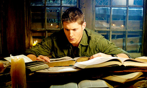 dean confused by books